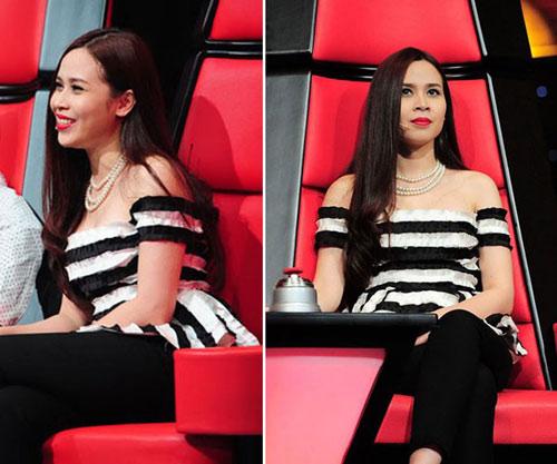 Lưu Hương Giang che nhược điểm gương mặt nhờ đổi kiểu tóc