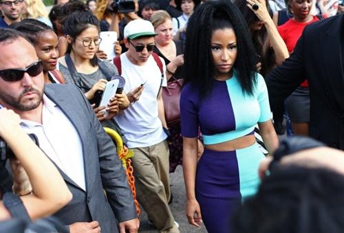 Nicki Minaj, Rihanna khoe phong cách ở New York Fashion Week
