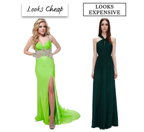 9 lý do khiến chiếc váy dạ tiệc của bạn trông sến sẩm