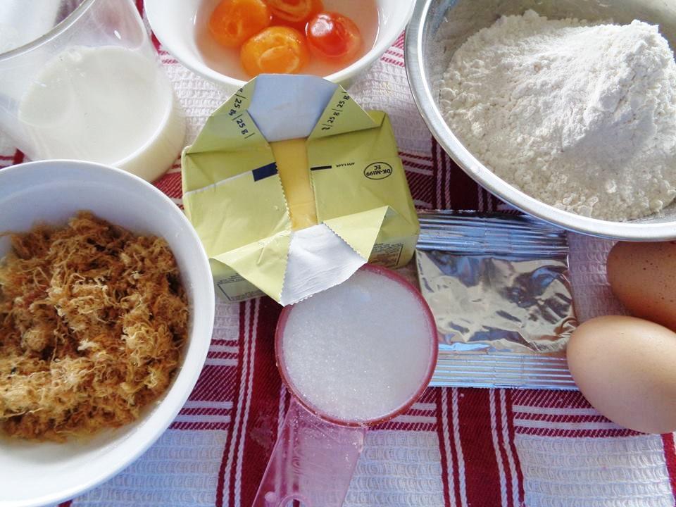 Bánh mì mặn trứng muối ngon mê