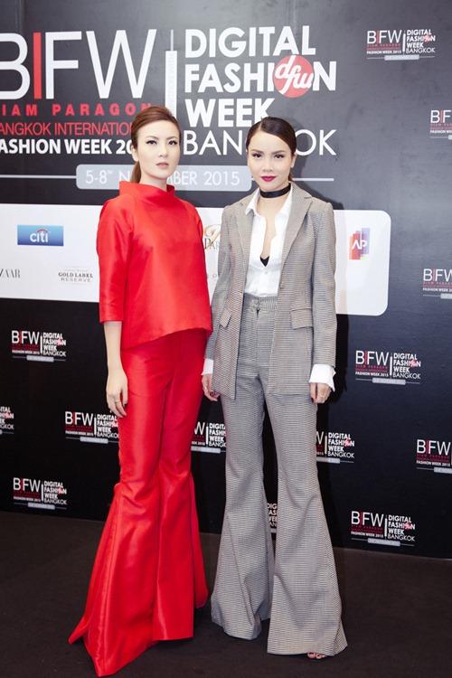 Chị em Song - Nhi sành điệu tại tuần thời trang Thái Lan