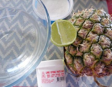 Cách nấu món mứt dứa kiểu truyền thống thơm ngon hấp dẫn
