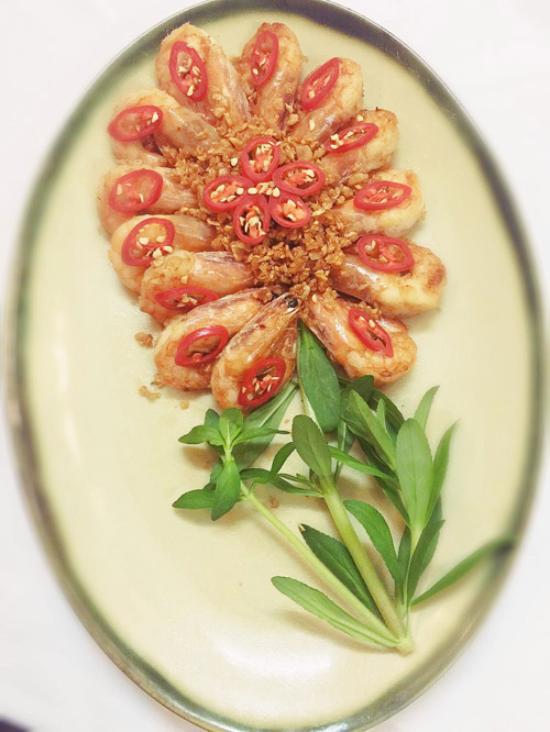 Nguyên liệu để nấu những món tôm ngon và hấp dẫn