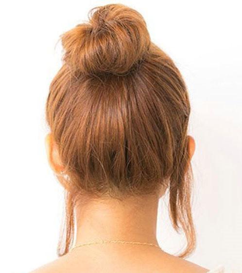 Cách búi tóc cao đơn giản ấn tượng cho bạn gái