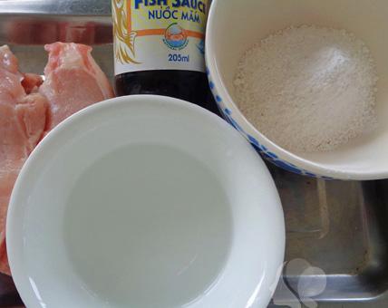 Cách nấu thịt heo tẩm nước mắm chiên giòn siêu ngon