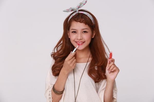 Tóc tết mái đẹp như hot girl Chi Pu
