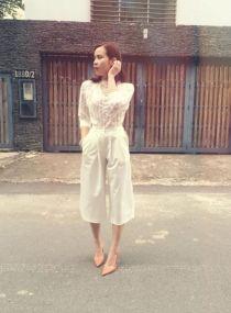 Quần culottes ngày càng tăng độ hot nhờ sao Việt