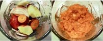 Nước ép táo, cà rốt bổ dưỡng