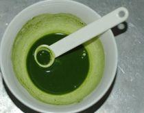 Sữa chua trà xanh ngon mịn, thơm mát