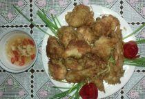 Cách làm món cánh gà chiên sả thơm ngậy