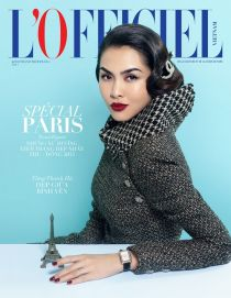 'Ngọc nữ' Tăng Thanh Hà tái xuất ấn tượng trên bìa tạp chí thời trang