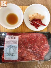 Ấm áp cuối tuần với thịt bò hầm gừng