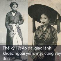 Vẻ đẹp của tà áo dài qua từng thời kỳ