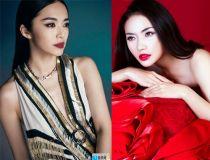Bất ngờ trước sự giống nhau của Tinna Tình và Hoa đán Trung Quốc