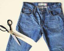 Làm ảo thuật với chiếc quần jeans cũ !