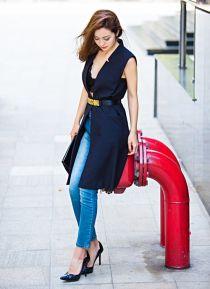Streetstyle ngày càng tiến bộ của HH Jennifer Phạm