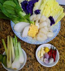 Thơm ngon bổ dưỡng với món lẩu nấm bò, cật heo