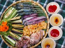 Thưởng thức món nướng vỉ đồng ở Sài thành
