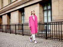 Áo khoác nữ đẹp cho nàng công sở thích màu hồng