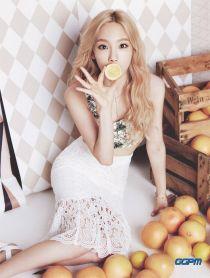 Ngắm những màu tóc nhuộm sáng da của Taeyeon SNSD