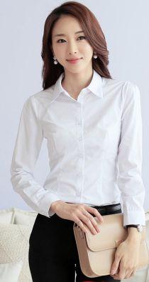Áo sơ mi trắng đẹp cho nàng công sở thêm duyên dáng