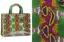 Ngắm túi Dior hàng chục nghìn USD làm từ da động vật