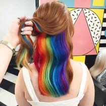 Bạn có đủ dũng cảm để thử kiểu tóc 7 sắc cầu vồng này không?