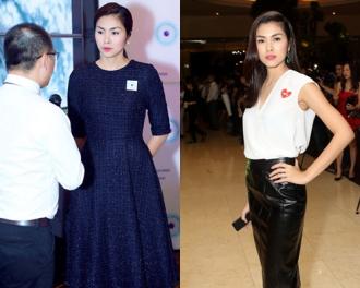 Hà Tăng, Ngô Thanh Vân vào top mặc đẹp với mốt tối giản