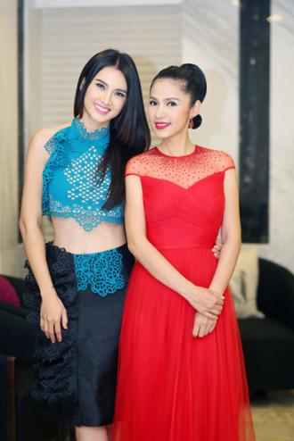 Việt Trinh, Jennifer Phạm với vẻ đẹp sang trọng....