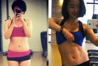 Thiếu nữ Việt giảm cân, sở hữu cơ bụng có múi