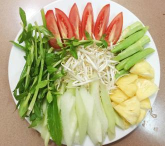 Bí quyết nấu món canh chua mực thanh mát cho ngày hè oi bức