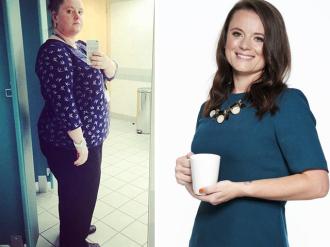 Bà mẹ đơn thân giảm 50kg nhờ uống 9 cốc trà xanh/ ngày