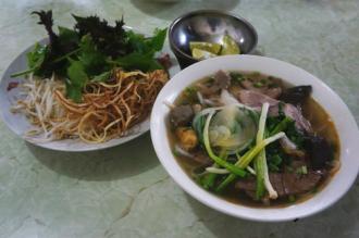 Địa chỉ thưởng thức bún bò Huế ở Hà Nội