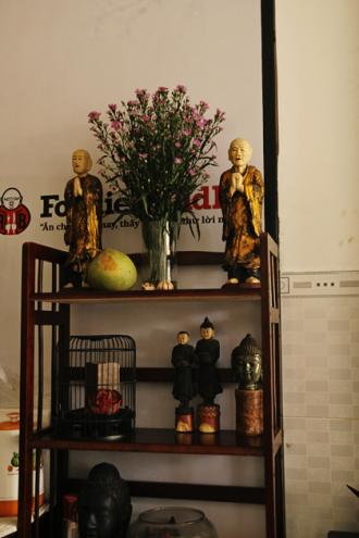 Ghé thăm quán chay của nghệ sĩ Phạm Hồng Phước