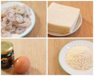 Cách làm món bánh mì tôm chiên xù lạ miệng, hấp dẫn