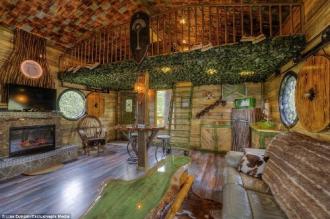 Nhà nghỉ trên cây cho người hâm mộ 'The Hobbit'