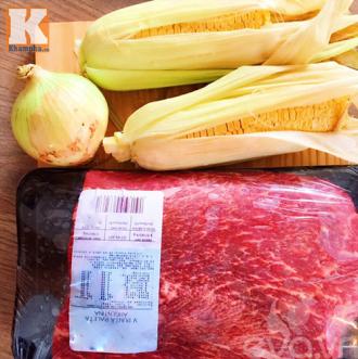 Hướng dẫn nấu thịt bò hầm ngô thơm ngon bổ dưỡng