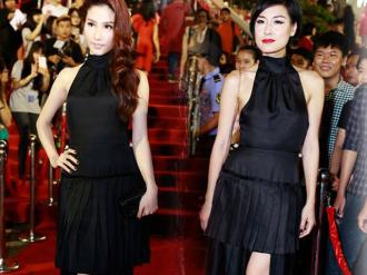 """Nhà thiết kế bênh vực chiếc váy """"dìm dáng"""" Diễm My 9x"""