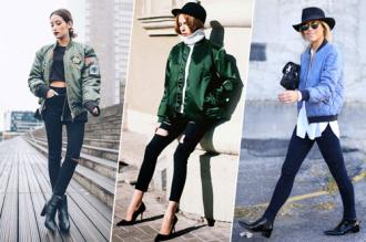 Cá tính sành điệu mà vẫn dễ thương với áo khoác bomber