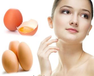 Mẹo dưỡng da trắng mịn màng nhờ trứng gà