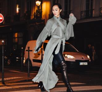 Tuần lễ thời trang qua góc nhìn của tín đồ gốc Á