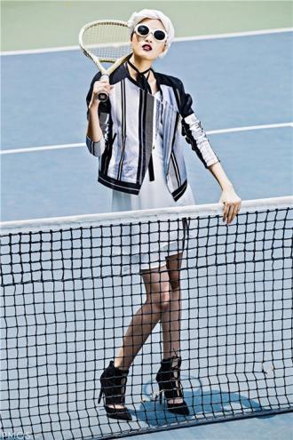 Phong cách thời trang ấn tượng của Chà Mi